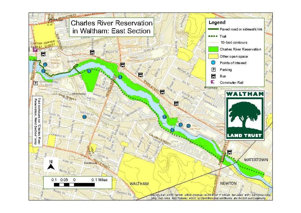 Charles River Reservation East