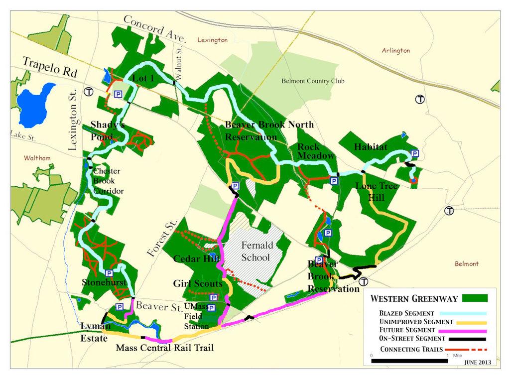 Trail Guides Waltham Land Trust
