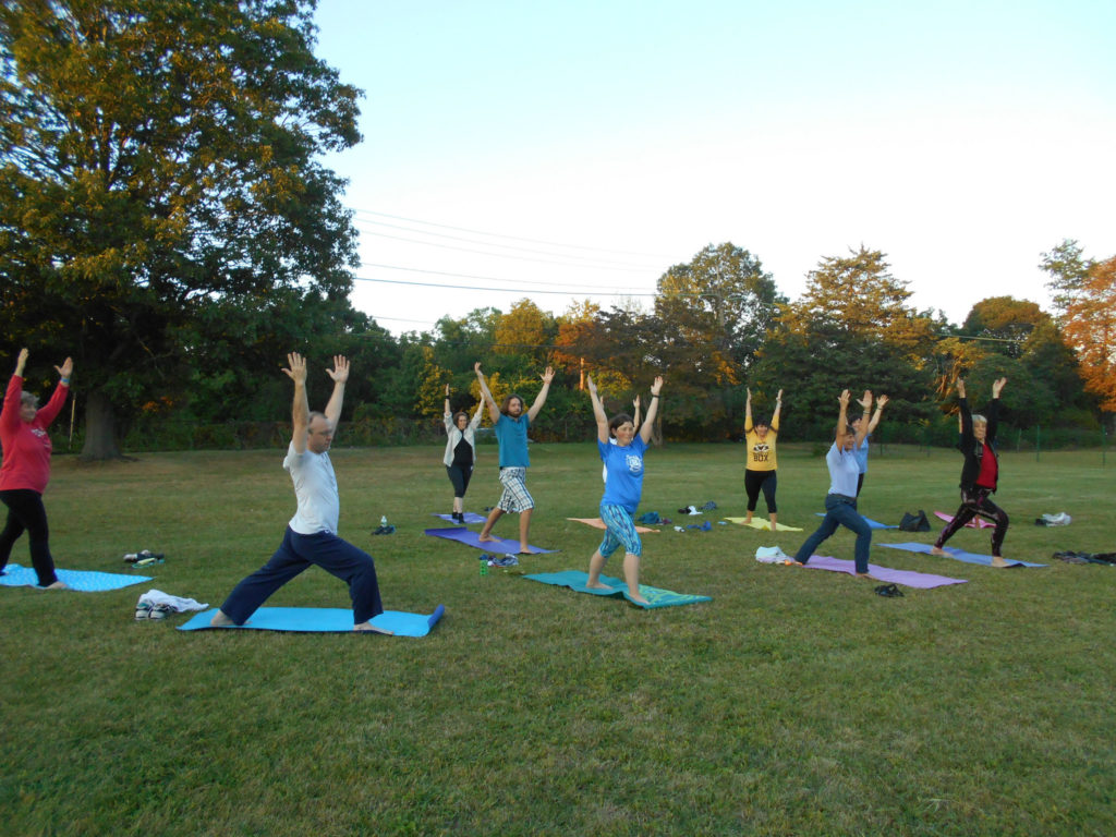 WLT Yoga at Sunset August 2017