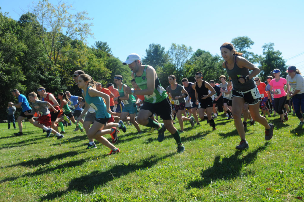 Western Greenway 5K start