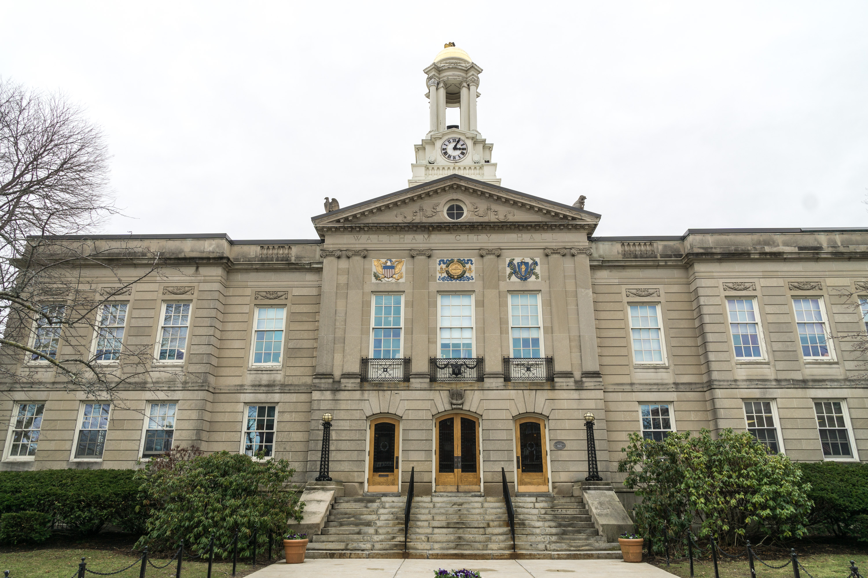 City Hall, Waltham, Massachusetts.