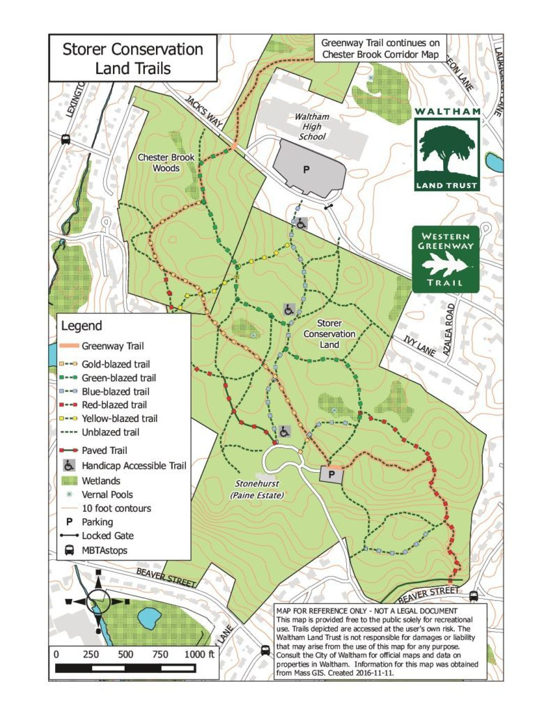 Storer Conservation Trails